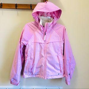 Columbia Pink Vertex Ski Waterproof Coat Sz Small